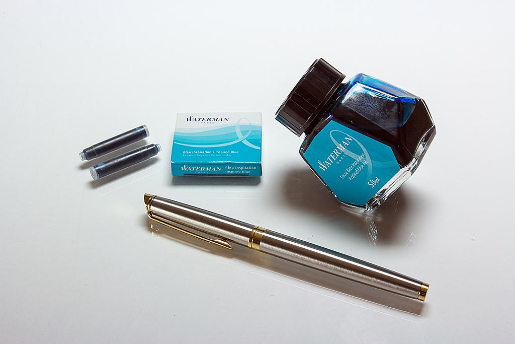 Inspired Blue Ink Waterman