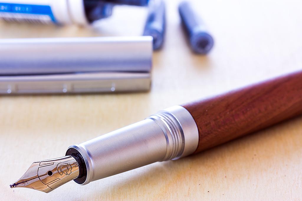Plum Wood Lignum Close Up