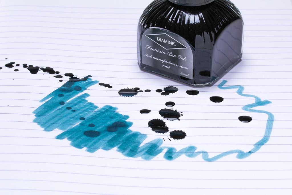 Diamine Teal Fountain Pen Ink