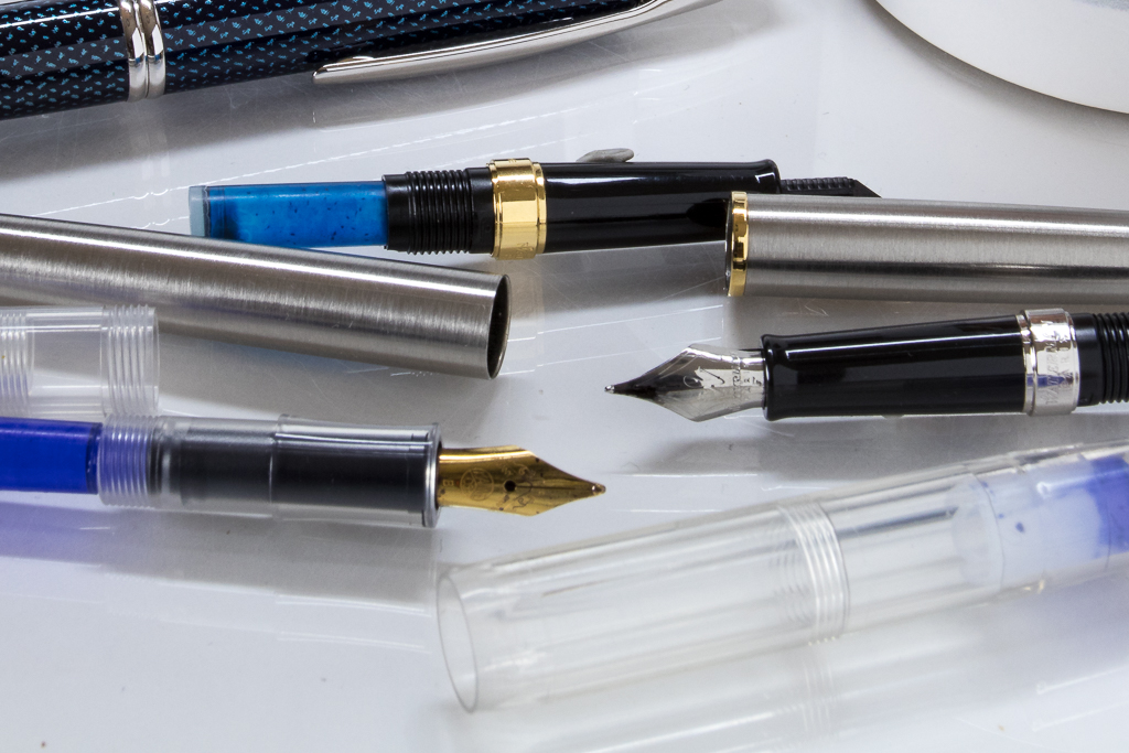 How To Clean A Fountain Pen Close Up