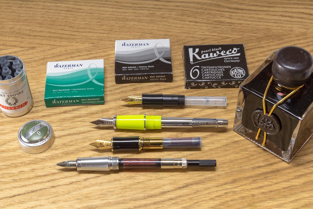 Fountain Pen Converters And Cartridges