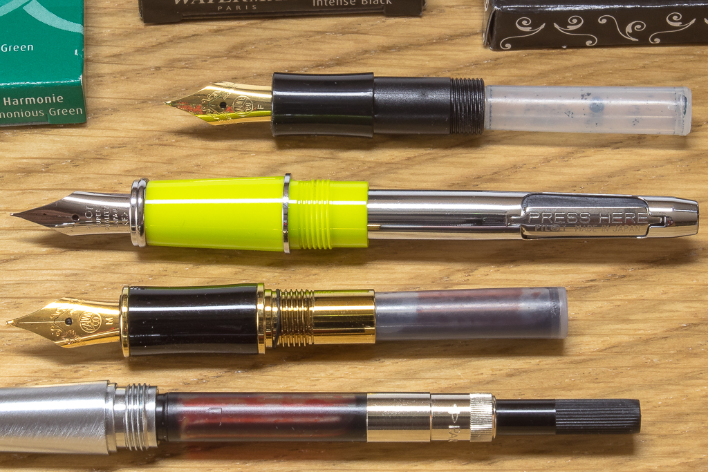 Fountain Pen Filling Systems