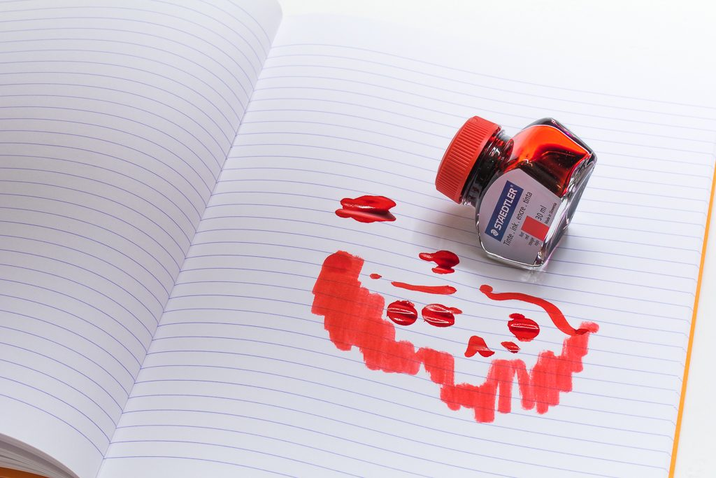 Staedtler Red Fountain Pen Ink