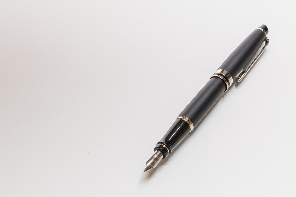 Expert III Fountain Pen by Waterman Paris, Posted