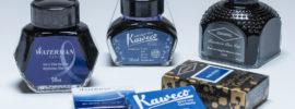 Blue-Black Fountain Pen Inks