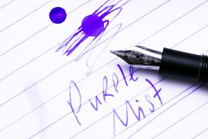 Purple Mist And Kaweco AL Special Closeup