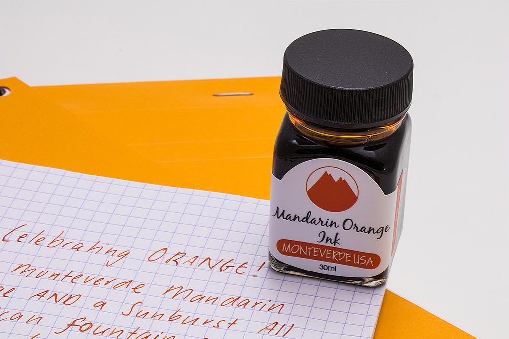Monteverde Mandarin Orange Ink