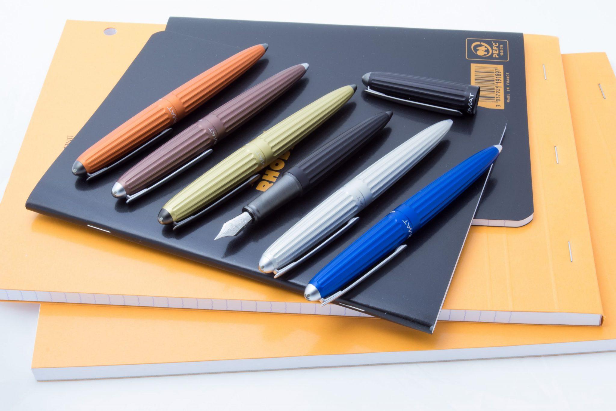 Diplomat Aero Fountain Pens